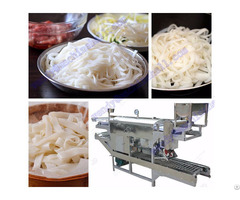 Cold Rice Noodle Making Machine China