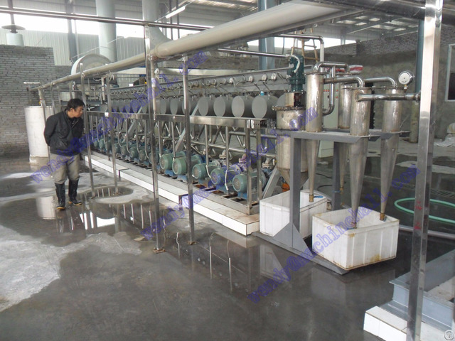 Tapioca Starch Machinery Manufacturer