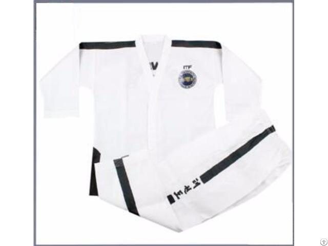 Custom Cheap Taekwondo Itf Uniform Dobok