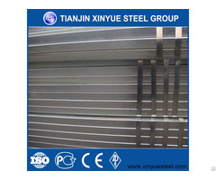Din 2394 Building Material Square And Retangular Steel Pipe