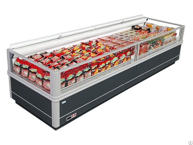 Wall Type Island Freezer