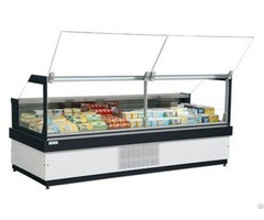 Plug In Curved Or Flat Glass Serve Over Showcase