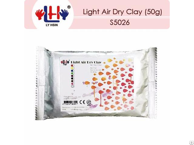 Light Air Dry Clay 50g