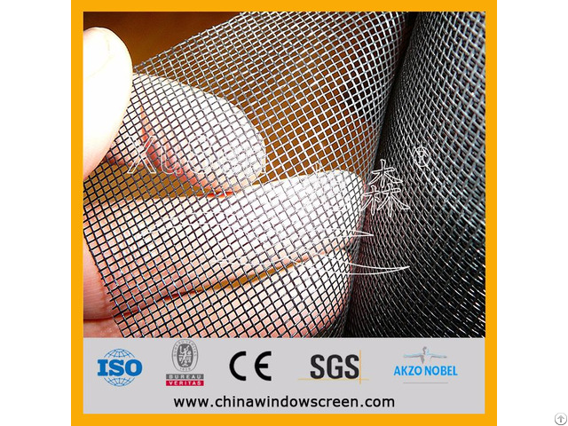 Quality Insect Mesh Pvc Coated Fibreglass 1m X 30m Roll Grey Coloured