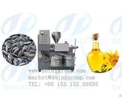 Sunflower Oil Press Machine