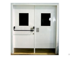 Double Door With Vision Glass