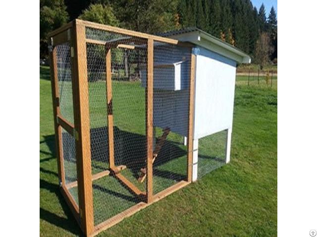 Hexagonal Wire Chicken Cage