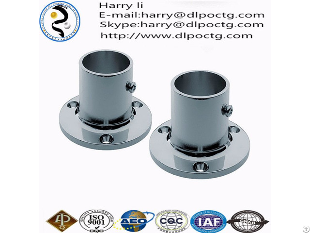 High Quantity Orifice Black Malleable Iron Threaded Floor Flanges