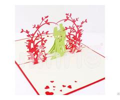 Sweet Wedding 3d Pop Up Card