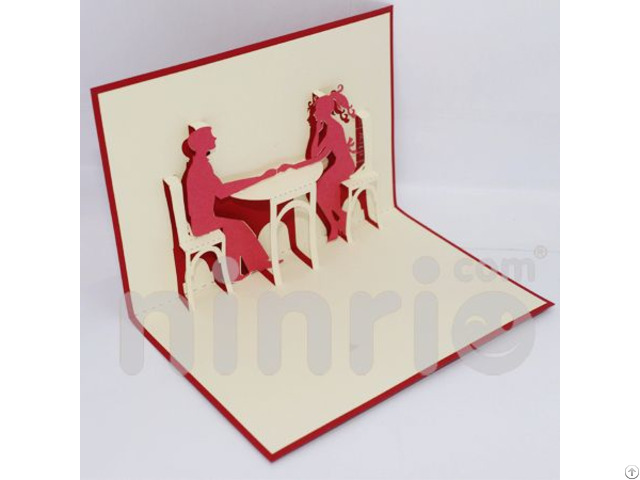 Dating 3d Pop Up Card