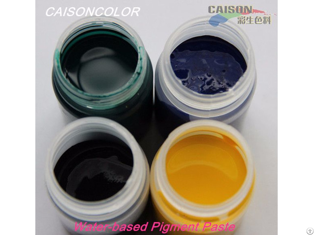 Cth Series Pigment Paste Color Swatch
