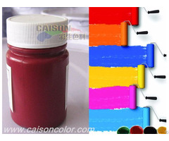 Pigment Paste In Low Temperature Condition