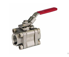 Lf2 3pcs Carbon Steel Ball Valve Class 800 1500 2500