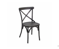 Tastefully Model Black Cheap Dining Chair