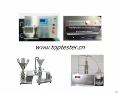 Carbon Black Test Equipment For Iodine Adsorption Ash Content Oil Absorption Value
