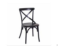 Metal Iron White Color Restaurant Chair