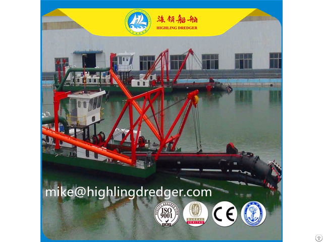 Hot Sale Hl450 18 Inch Hydraulic Cutter Suction Dredger