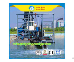 Hl J300 Jet Suction Dredger With 13m Depth And 300m³ H Capacity
