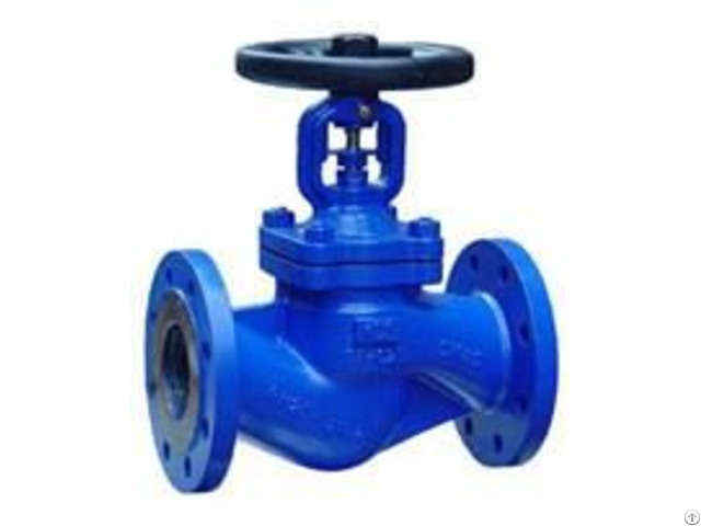 Din Bellow Seal Globe Valve Pn16 Pn25 Pn40 Gs C25 Body