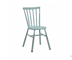 Wholesale Retro Industrial Stackable Restaurant Dining Chair