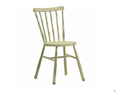 Good Qulity Iron Cafe Shop Dining Chair