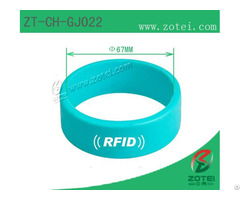 Circle Rfid Silicone Wristband
