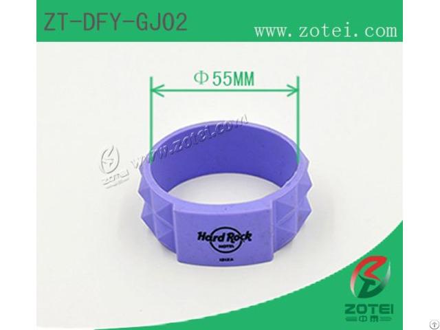 Square Circle Rfid Silicone Wristband