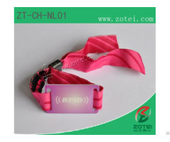 Rfid Nylon Wrist Band Tag