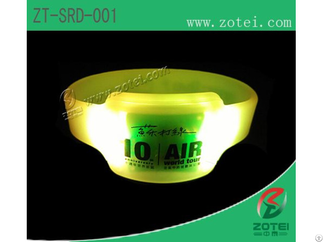 Rfid Led Lights Wristband Tag