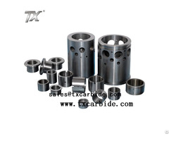Precision Tungsten Carbide Of Bushing For Oil Pumps