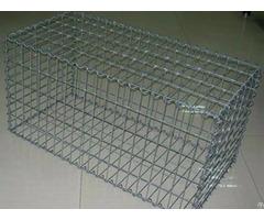 Galvanized Gabion Cage