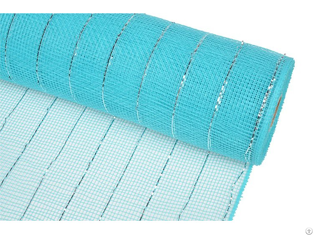 21inch 10yard Turquoise Plastic Strip Christmas Deco Mesh For 20s22