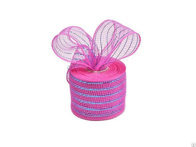 10y Dark Pink Apple Green Strip Metal Wire Mesh For 20c04m32r2