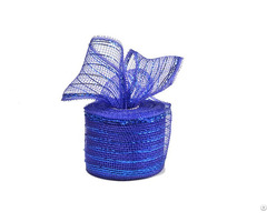 10y Royal Blue Strip Poly Wholesale Deco Mesh Roll For 50c18r2 5