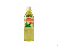 Okyalo Wholesale 500ml Aloe Vera Juice Drink With Peach Flavor