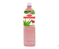 Okyalo Wholesale 1 5l Aloe Vera Juice Drink With Strawberry Flavor