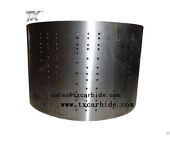 Precision Tungsten Carbide Drums For Tobaco Machine