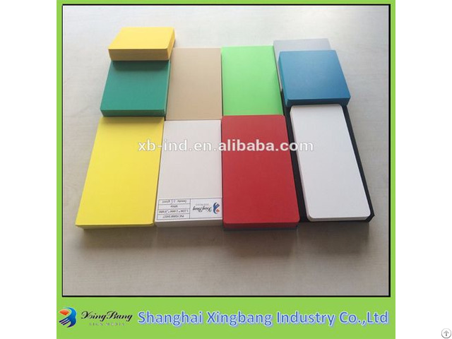 Hot Sale Decoration Colored Pvc Foam Board