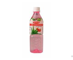 500ml Strawberry Fresh Pure Aloe Vera Drink Supplier Okyalo