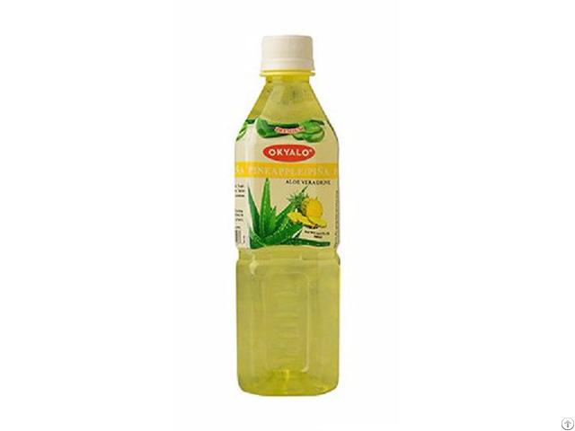 500ml Pineapple Fresh Pure Aloe Vera Drink Supplier Okyalo