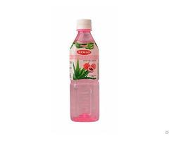 500ml Lychee Fresh Pure Aloe Vera Drink Supplier Okyalo