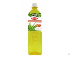 Peach Fresh Pure Aloe Vera Drink Supplier Okyalo
