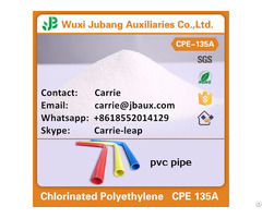 Cpe/cm Powder Chlorinated Polyethylene For Pvc Pipe