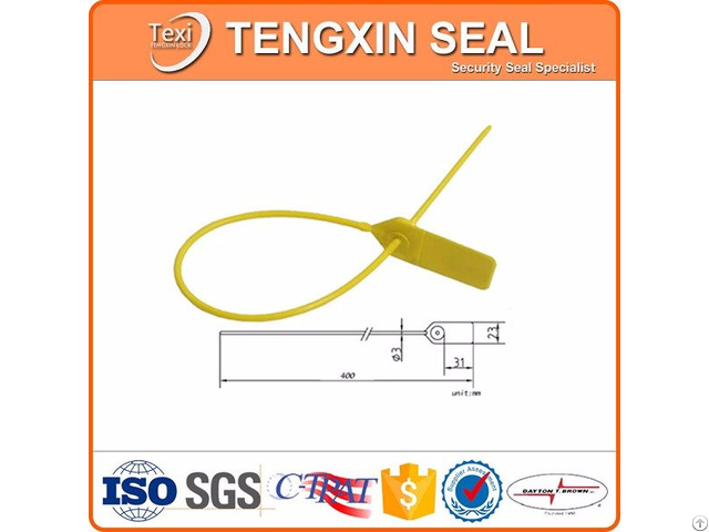 Pull Tight Plastic Seals For Tampering Evidence