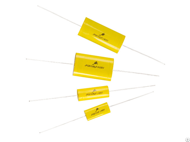 Jfg Axial Metallized Polyester And Polypropylene Film Capacitor