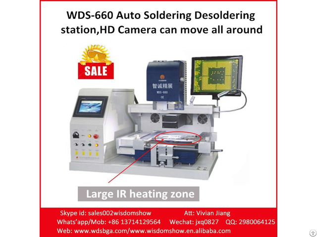 Repair Xbox360 Playstation 4 Machine Wds 660 Bga Chips Reballing Station For All Motherboard