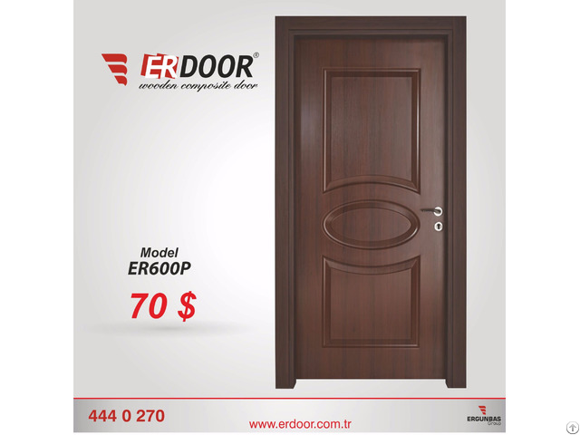 Erdoor Wooden Composite Door Er600p