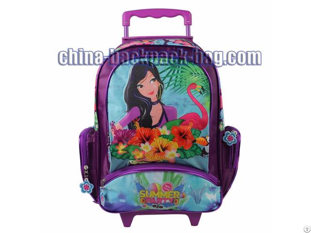 Student Trolley School Bag
