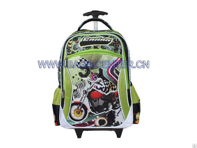 Wheeled Bag With Single Trolley