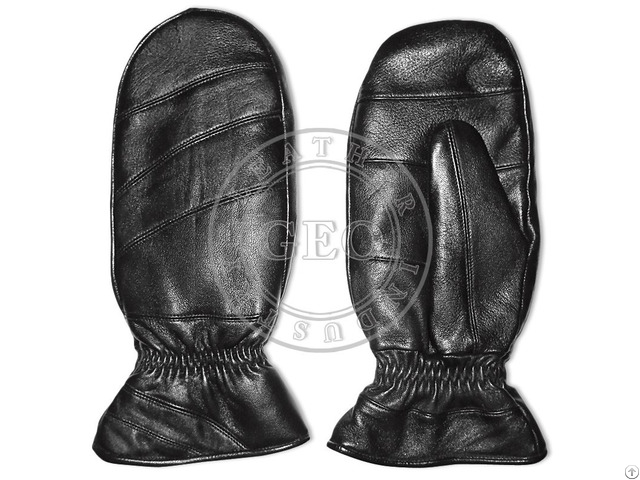 Cheap Price Cp Cut Piece Winter Leather Mitts